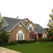 windows siding and roofing for large home